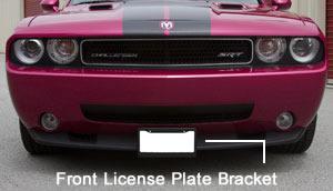 Sto N Sho Front License Plate Bracket